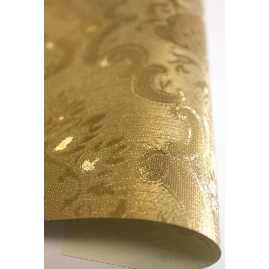 輸入壁紙 490606 Illumina2 ゴージャス メタリック ゴールド ダマスク