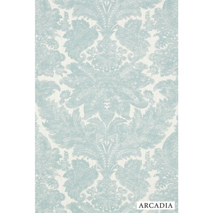 輸入壁紙 壁紙 Arcadia Tecido Damask Ar00301 内装 ダマスク ブルー