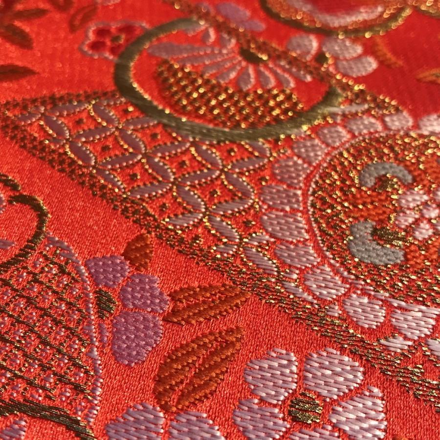 カット販売 西陣ウォール Nw丸華文 壁紙 織物 織り物 反物 着物 和 金
