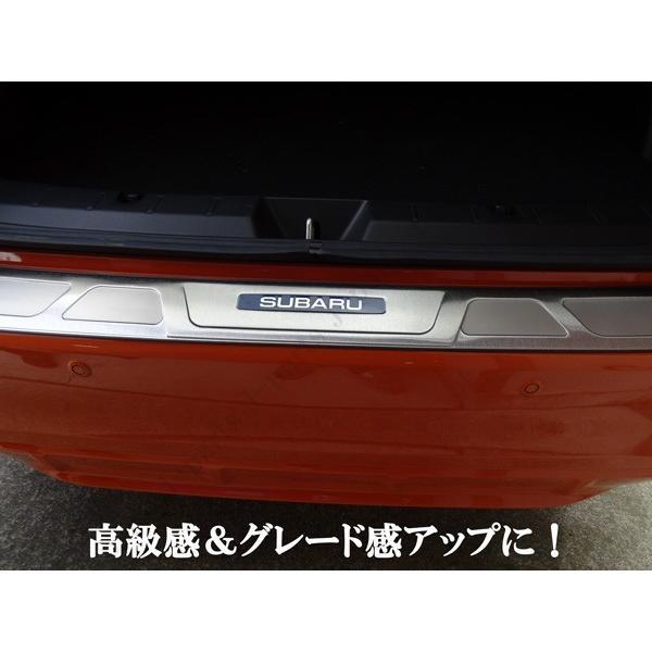 スバル XV GT3 GT7 GP7系 後期 オプションタイプ リアバンパーガード リアプレート ガー二ッシュ ステンレス製キズ防止愛車の保護 jparts 06