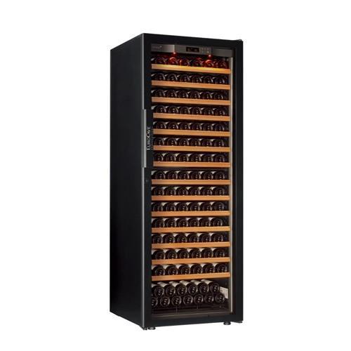 EuroCave EuroCave (ユーロカーブ) ワインセラー 6000シリーズ 黒色 182本 フルガラスドア 多温度帯セラー 6182S