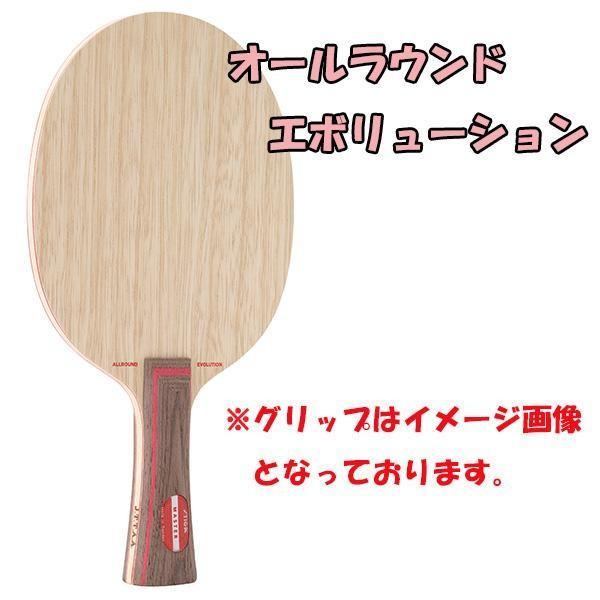 スティガ 卓球 ラケット オールラウンドエボリューション 17:細いストレート 1051-CJP <2019NEW>