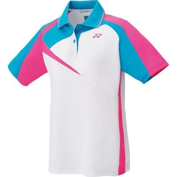 ヨネックス テニス バドミントン ソフトテニス ウエア レディース ゲームシャツ ホワイト 20495-011 <2019FWCON>
