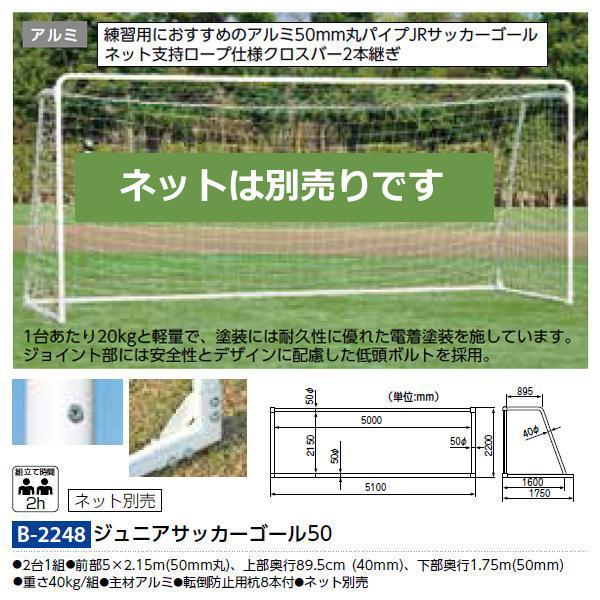 トーエイライト サッカー ジュニアサッカーゴール50 B-2248 <2021CON>
