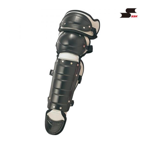 エスエスケイ 野球 少年軟式用レガーズ(ダブルカップ) ブラック×シルバーグレー CNLJ110C-9096 <2019CON>