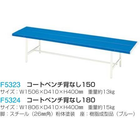 フラップ 学校 体育 コートベンチ背なし180 コートベンチ背なし180 コートベンチ背なし180 5324 <2019NP> 65f