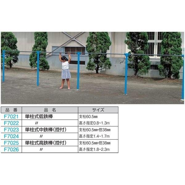 フラップ 単柱式高鉄棒(控付)(1欄) F7025 <2020CON>