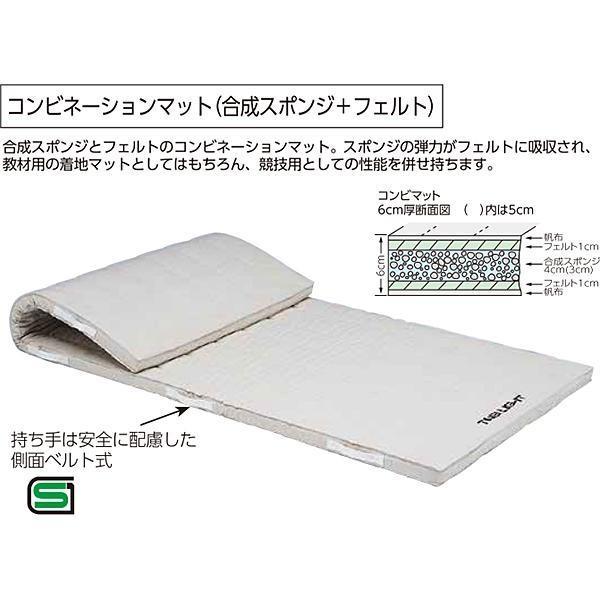 トーエイライト コンビネーションマット6cm厚(9号帆布) 120×600×6cm T-1273 <2019CON>