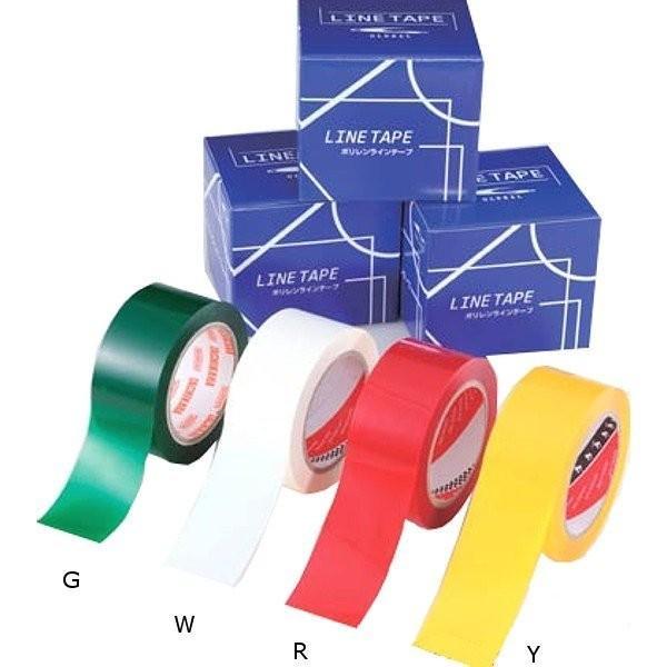 グローバルライフタイム ポリレン·ラインテープ 100mm巾·50m×1巻 ホワイト 30箱セット 受注生産品 TXT-100-W <2021CON>