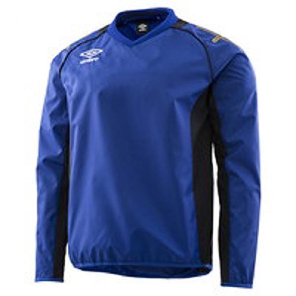 アンブロ サッカー トレーニングウェア ウインドアップピストトップ UAS4660-BLU <2019SSCON>