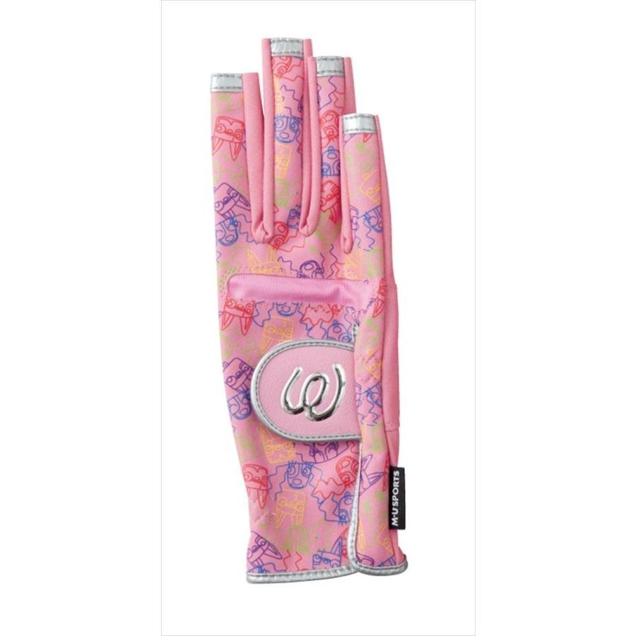 クラシック MU SPORTS(エム MU ユースポーツ) 2016ss L手袋 Mサイズ SPORTS(エム ピンク Mサイズ 703U2802, 良いもの本舗:57acd876 --- airmodconsu.dominiotemporario.com