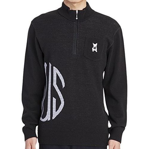 MU SPORTS(エム ユースポーツ) 2016AWシリーズ メンズ セーター 700U6260 ブラック 52 700U6260
