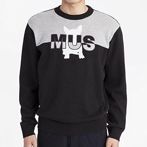 MU SPORTS(エム ユースポーツ) 2016AWシリーズ メンズ セーター 700U6252 ブラック 50 700U6252