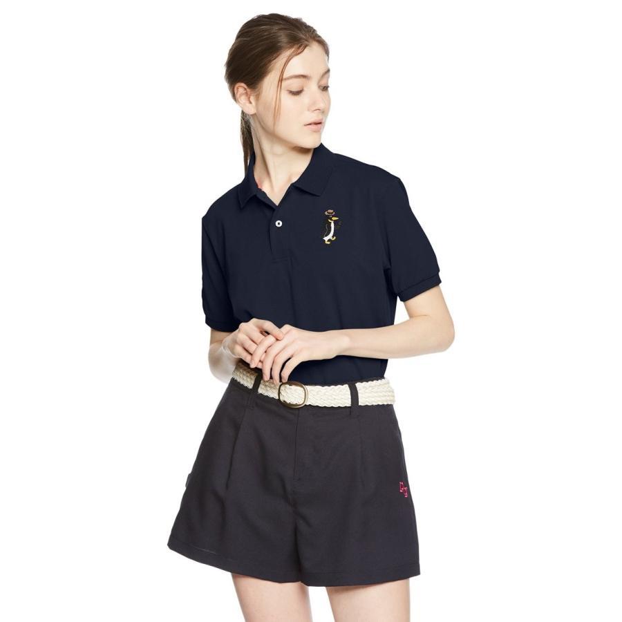 【中古】 (マンシングウェア)Munsingwear(マンシングウェア) 半袖シャツ MGMLGA10 NV00 NV00(ネイビー) M, クノヘムラ 2631ff2d