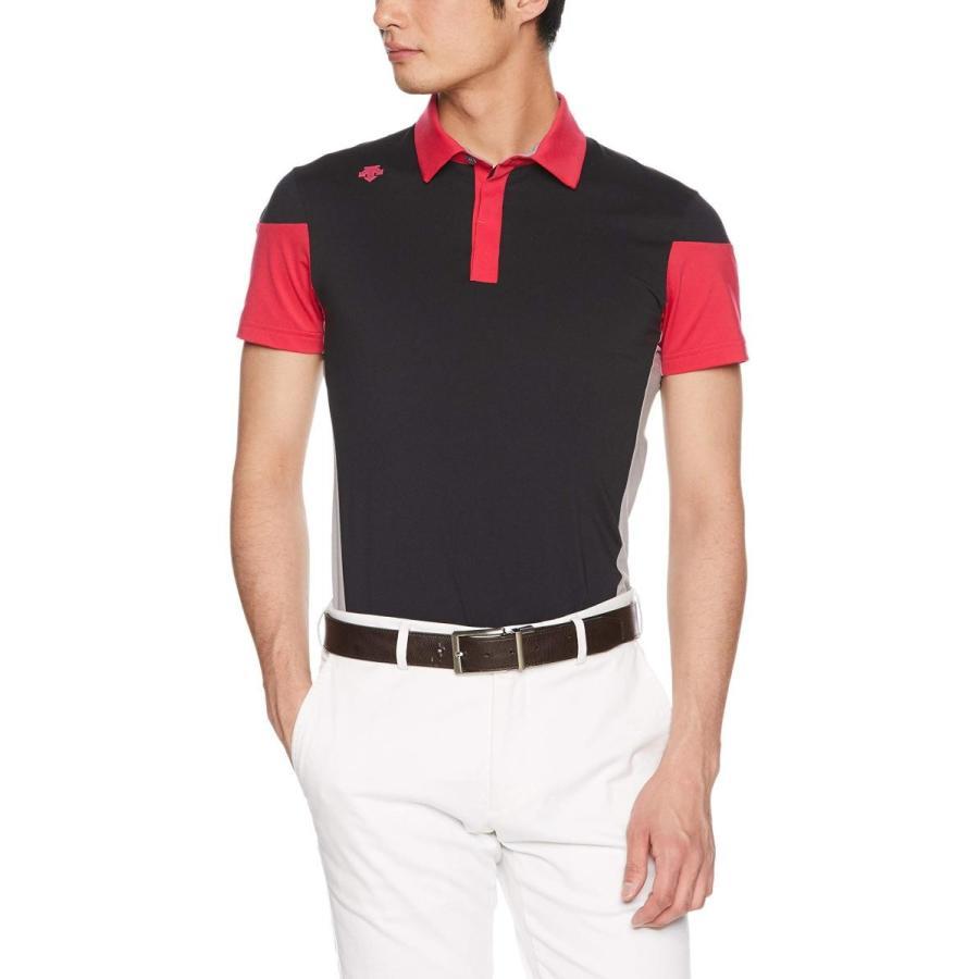 [デサントゴルフ] 半袖シャツ DGMNJA01 メンズ BK00(ブラック)