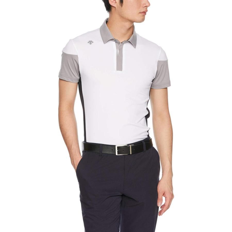 [デサントゴルフ] 半袖シャツ DGMNJA01 メンズ WH00(ホワイト)