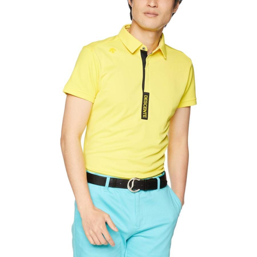 [デサントゴルフ] ショートスリーブシャツ DGMNJA33 メンズ YL00(イエロー)