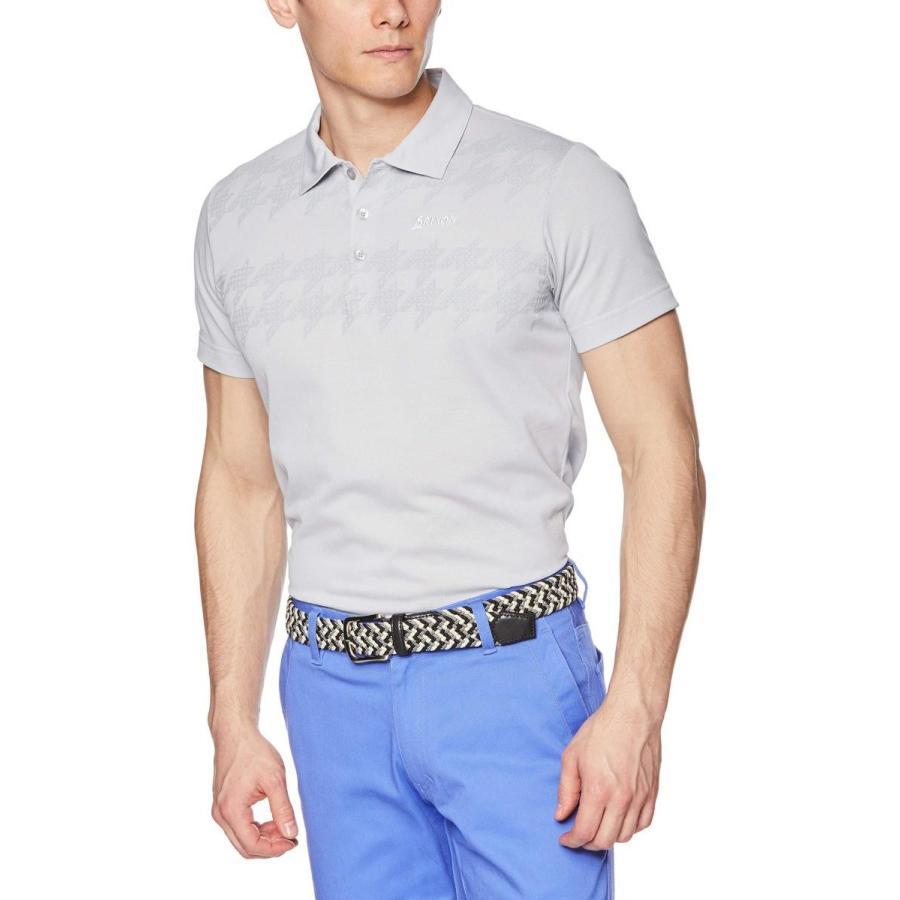 [スリクソン] 半袖シャツ RGMNJA10 メンズ GY00(グレー)