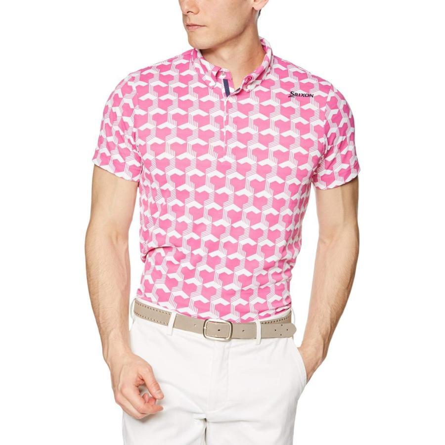[スリクソン] 半袖シャツ RGMNJA14 メンズ PK00(ピンク)