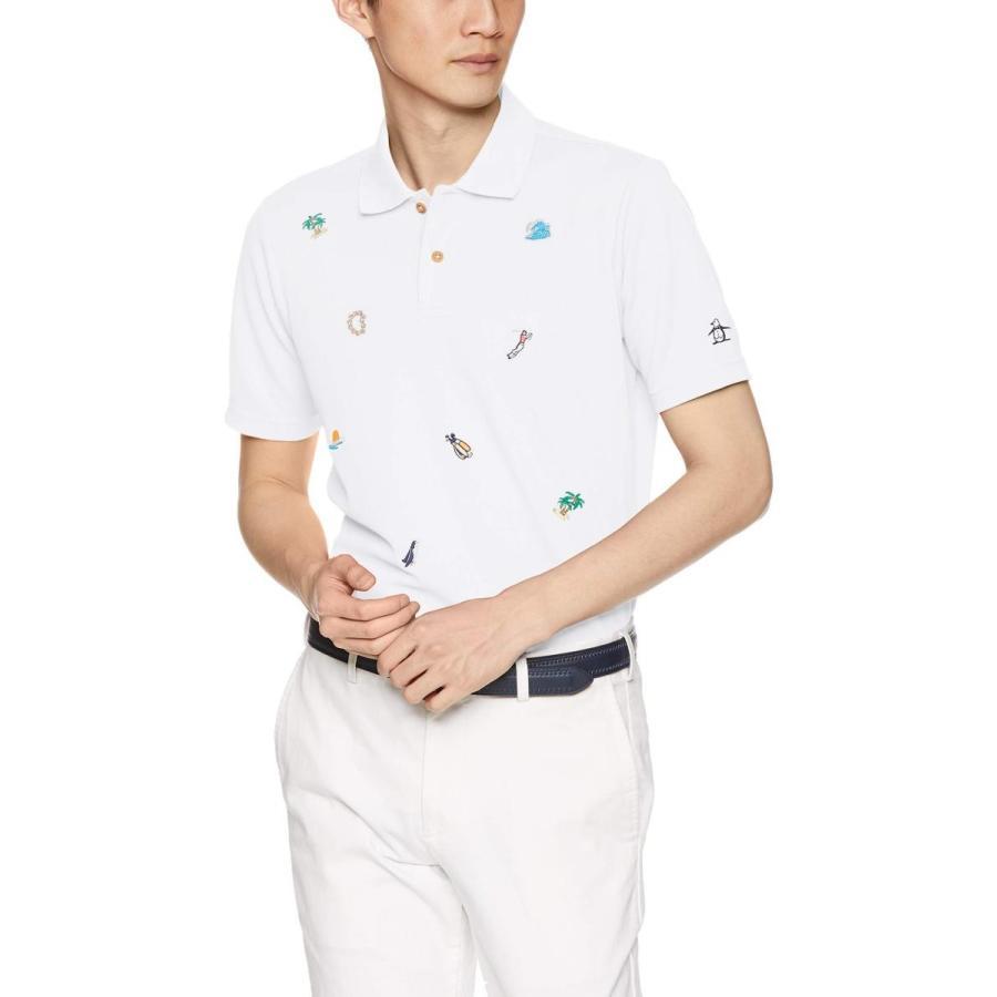 [マンシングウェア] 半袖シャツ MGMNJA21 メンズ WH00(ホワイト)