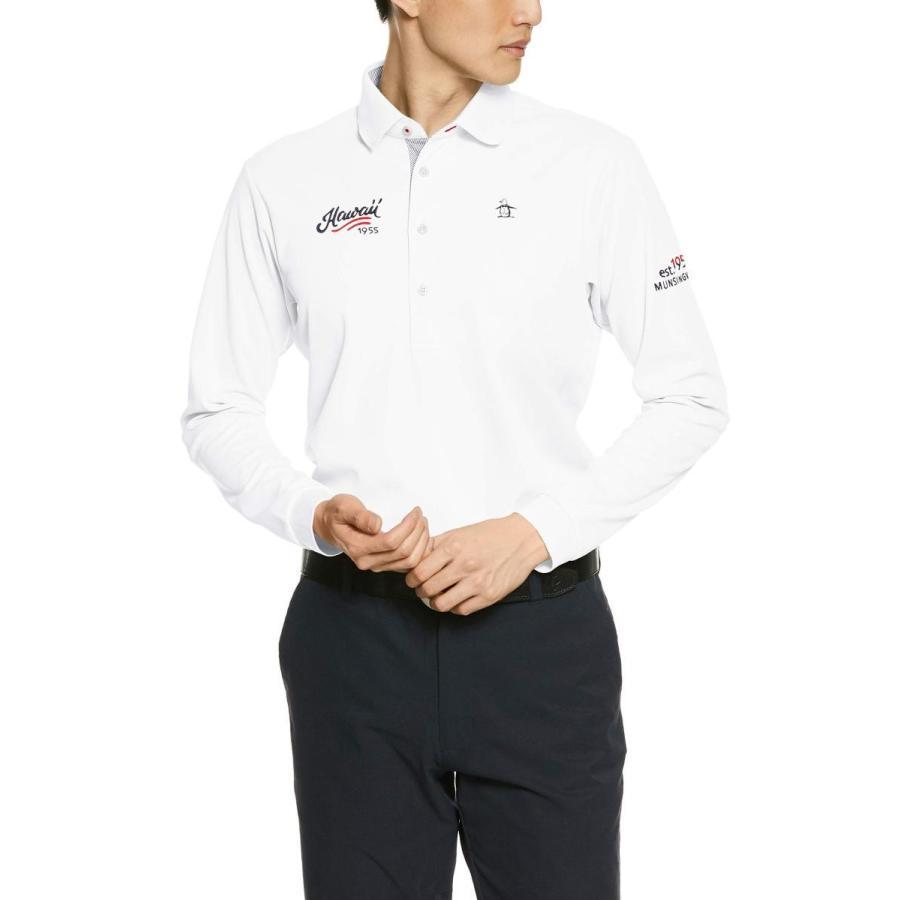 [マンシングウェア] 長袖シャツ MGMNJB13 メンズ WH00(ホワイト)