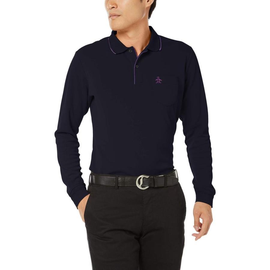 [マンシングウェア] 長袖シャツ MGMOGB09 メンズ ネイビー