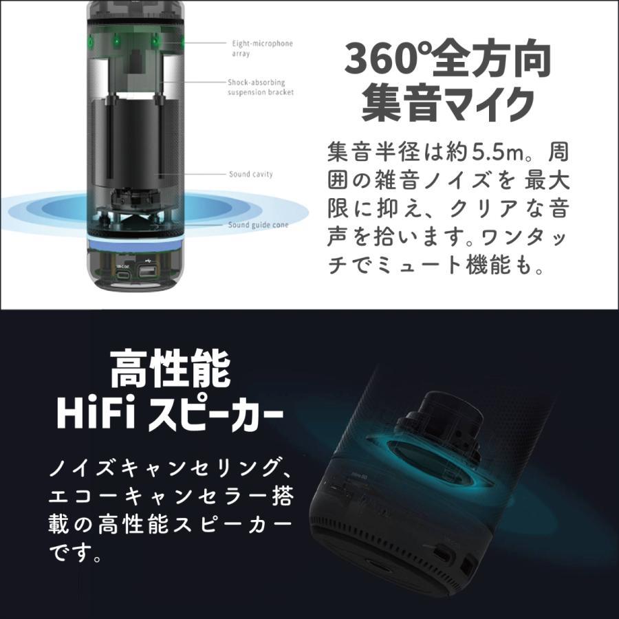 360度WEBカメラ 360度ウェブカメラ Kandao Meeting Pro AI機能搭載360度会議用カメラ 全指向性マイク スピーカー Androidシステム搭載 マイク内蔵|jpstars|08