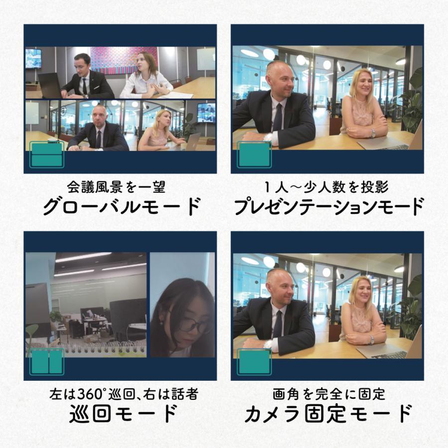 360度WEBカメラ 360度ウェブカメラ Kandao Meeting Pro AI機能搭載360度会議用カメラ 全指向性マイク スピーカー Androidシステム搭載 マイク内蔵|jpstars|10