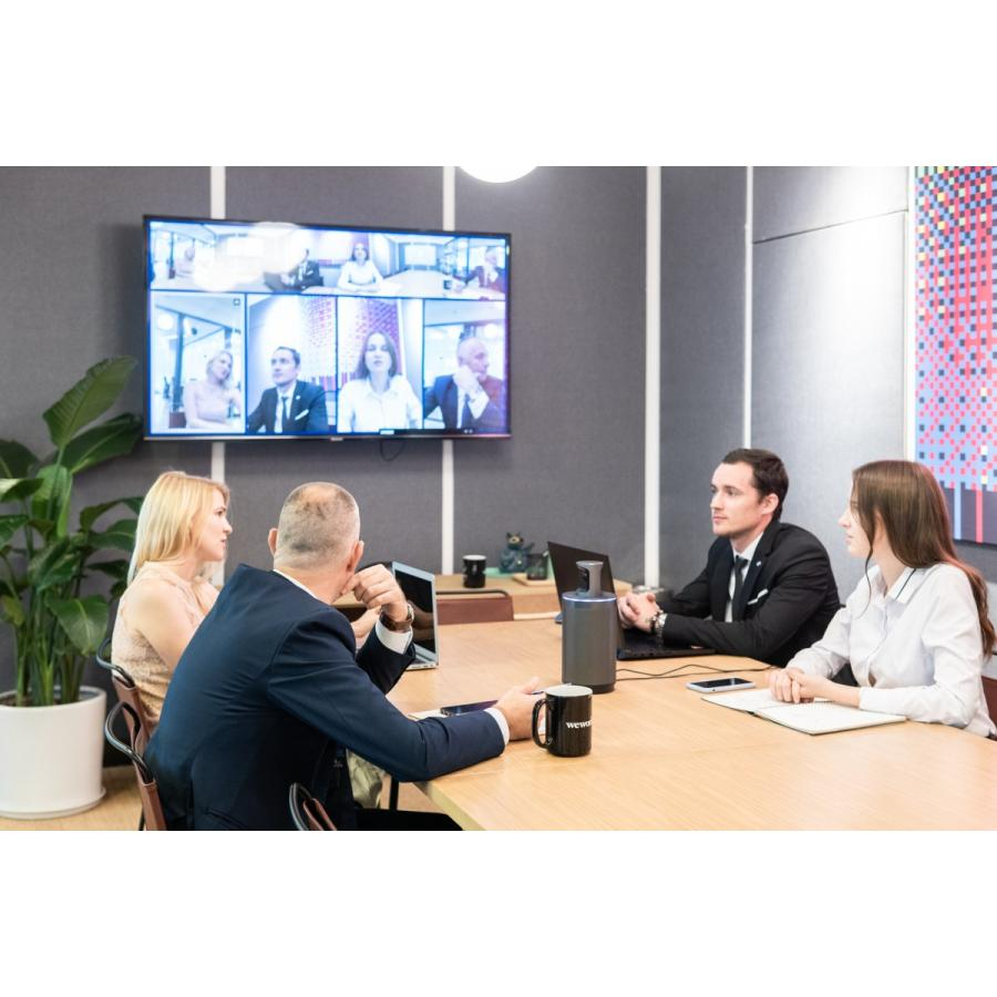 WEBカメラ マイク内蔵  テレワーク対策 ウェブカメラ 360度ウェブカメラ KandaoMeeting 360度ビデオ会議カメラ 遠隔教育 ウェブ会議 ビデオ会議 遠隔教育|jpstars|19