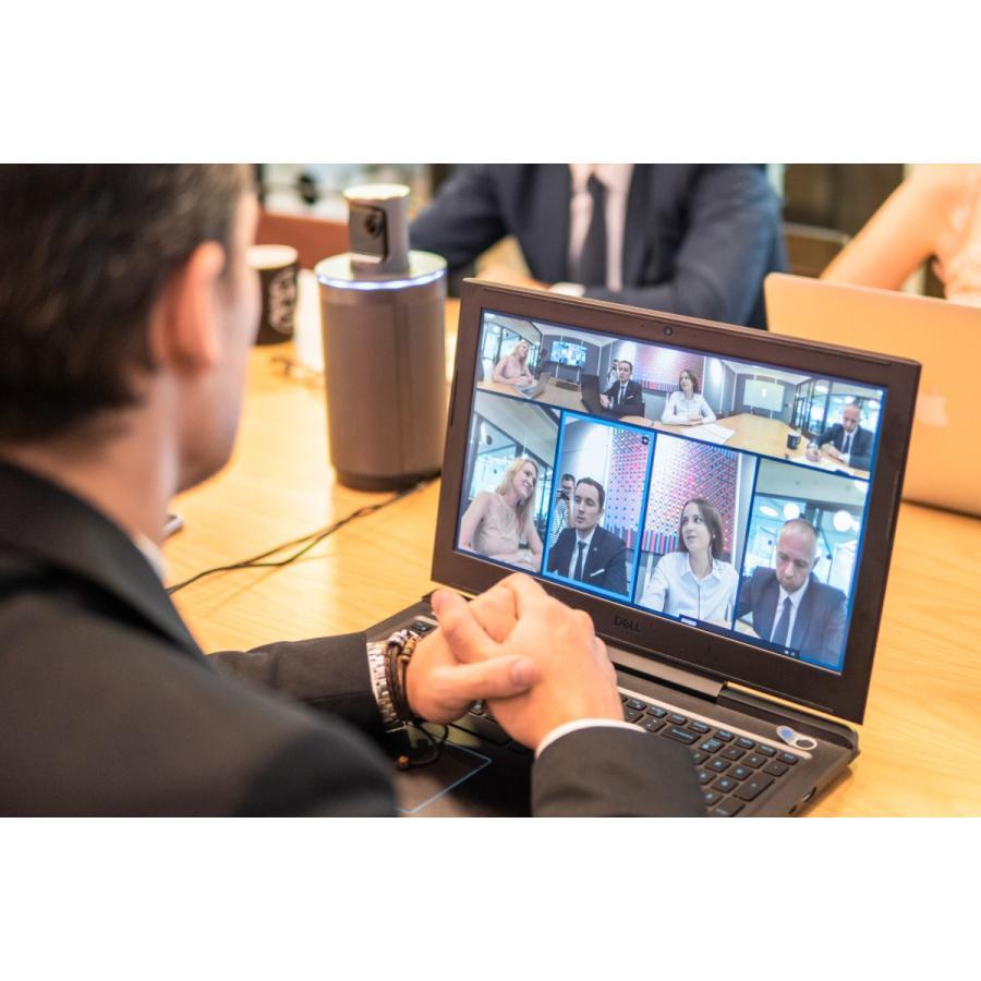 WEBカメラ マイク内蔵  テレワーク対策 ウェブカメラ 360度ウェブカメラ KandaoMeeting 360度ビデオ会議カメラ 遠隔教育 ウェブ会議 ビデオ会議 遠隔教育|jpstars|20