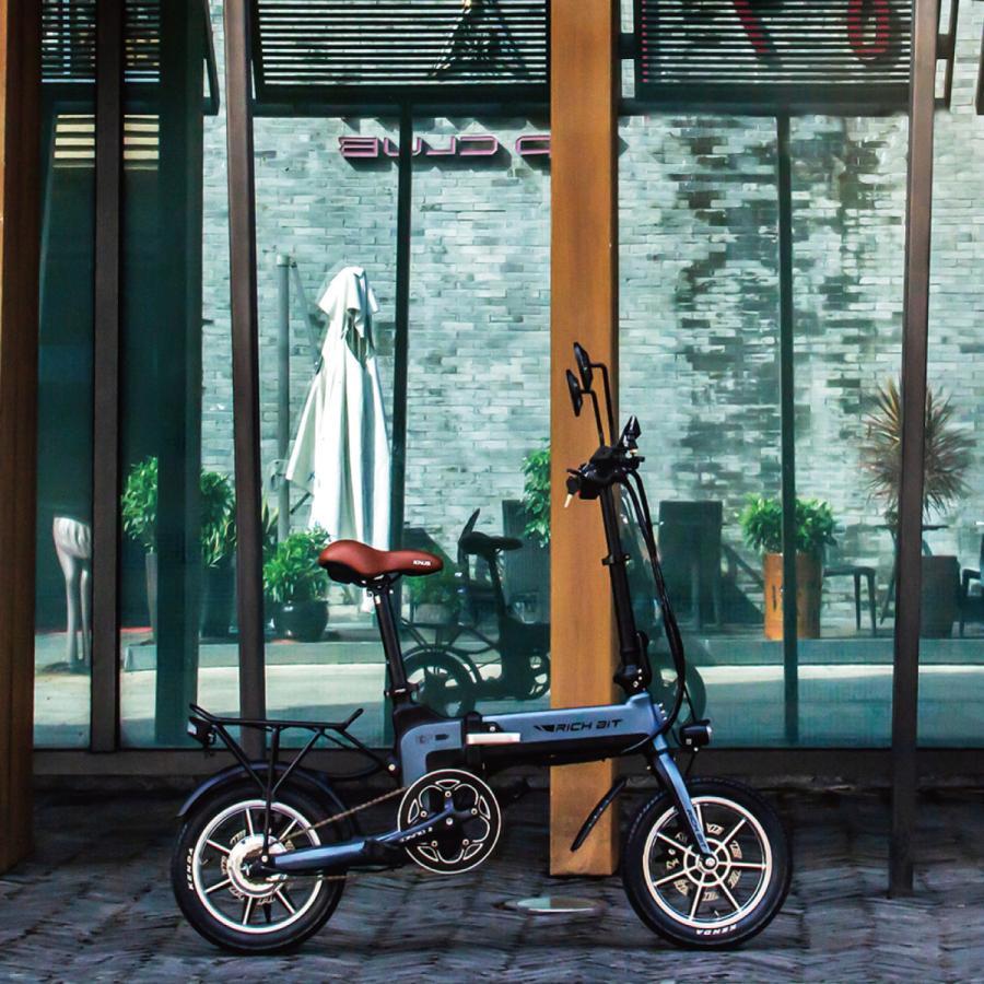 RICHBIT TOP619 SmarteBike  近未来型小型EV 電動自転車 電動バイク 電動スクーター 原付 折り畳み 公道可 在庫即納|jpstars|10