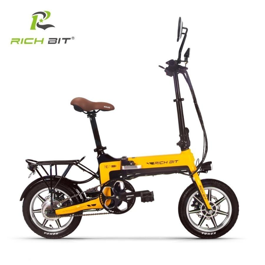 RICHBIT TOP619 SmarteBike  近未来型小型EV 電動自転車 電動バイク 電動スクーター 原付 折り畳み 公道可 在庫即納|jpstars|23