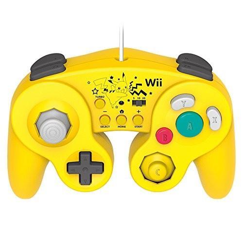 ◆新品◆【Wii U/Wii対応】ホリ クラシックコントローラー for Wii U ピカチュウ (特典 Wiiリモコンシート(ピカチュウ) 同梱)(