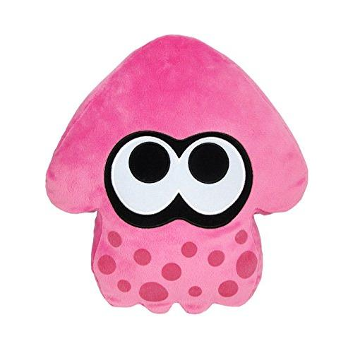 ◆新品◆スプラトゥーン イカ クッション 高さ35cm ピンク(在庫あり)