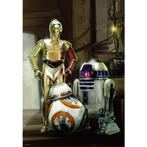 ◆新品◆1000ピース ジグソーパズル スター・ウォーズ エピソード7 R2-D2、C-3PO&BB-8(51x73.5cm)(在庫あり)
