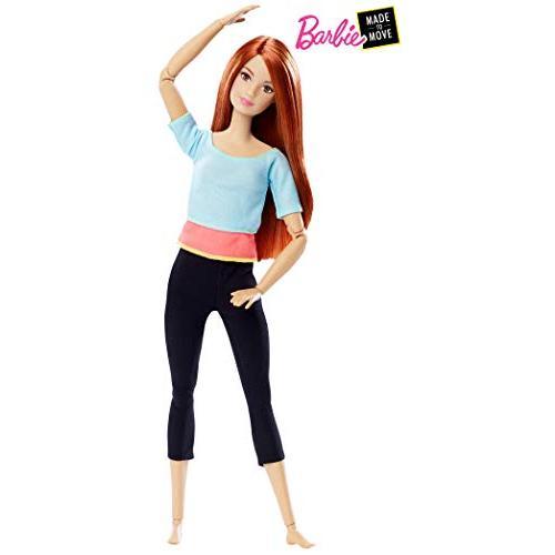 ◆新品◆[バービー]Barbie Made to Move Doll Light 青 Top DPP74 [並行輸入品](在庫あり)