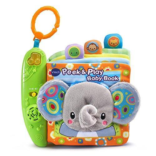 ◆新品◆VTech Baby Peek and Play Baby Book 音の出る赤ちゃんの布絵本 【並行輸入品】(在庫あり)