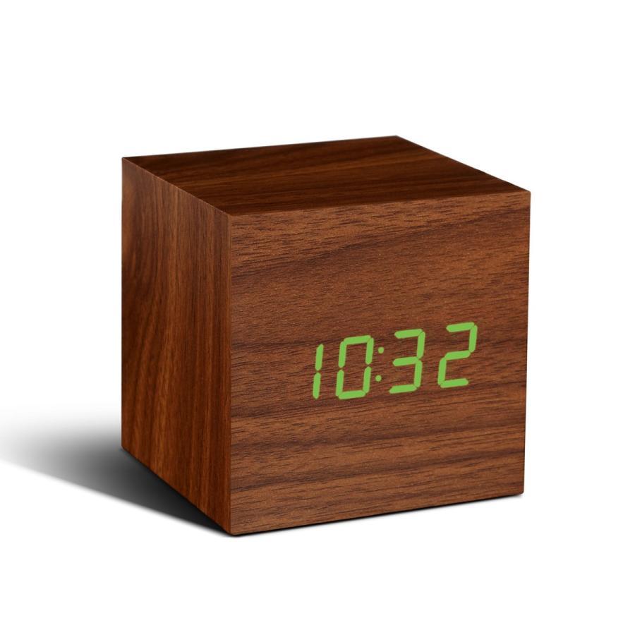 目覚まし時計 おしゃれ 北欧 置時計 デジタル CUBE click clock jpt-teds 05