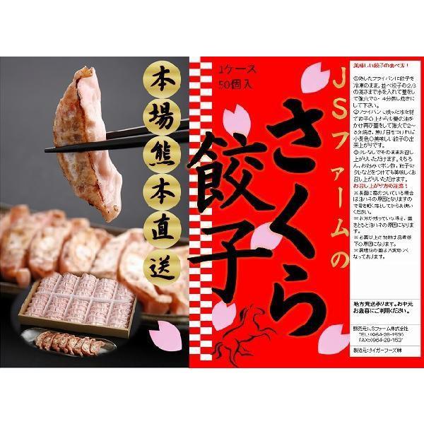本場熊本直送!桜餃子(50個)|js-farm|02