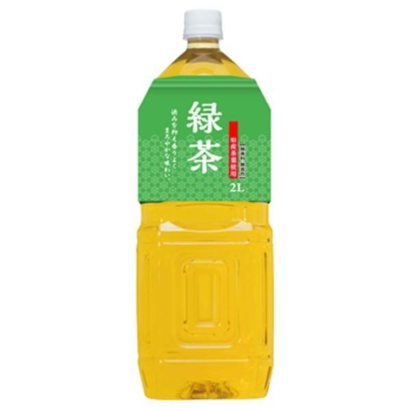 〔まとめ買い〕桂香園 緑茶 2L×60本(6本×10ケース)ペットボトル〔鹿児島県産の茶葉使用〕
