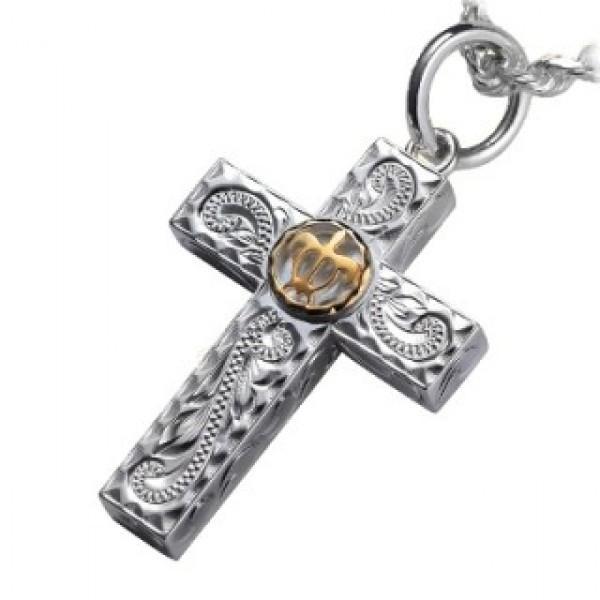 お得セット 【ハワイアンジュエリー hoo】 シルバー K14 ペンダント ネックレス SV silver ぺんだんと ねっくれす necklace, GRACIAS 09ebf75d