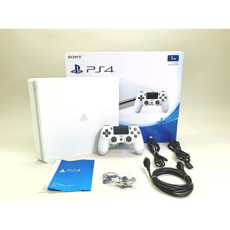 [中古] PlayStation4 グレイシャー・ホワイト (1TB) CUH-2000BB02