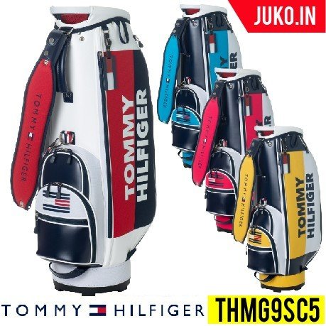 クーポン有(在庫有 即出荷)トミーヒルフィガーゴルフ THMG9SC5 スプリットキャディーバッグ TOMMY HILFIGER GOLF JUKO.IN グルッペ