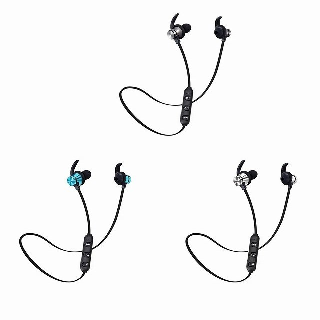 Bluetooth 5.0 ヘッドセット スポーツ ステレオヘッドセットワイヤレス イヤホン ハンズフリー骨伝導イヤフォンB jumbo111 02
