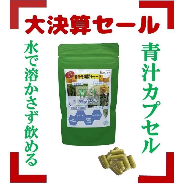 青汁 乳酸菌 130億超 国産 大麦若葉 モリンガ たもぎ茸 食物繊維 健康 ダイエット 青汁カプセル 送料無料|jun-global|02