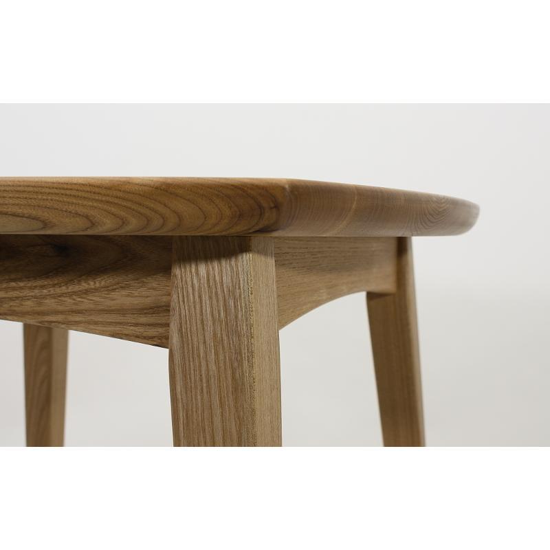 75x75cm 国産無垢材ダイニングテーブル(オイル仕上)【岩泉純木家具公式 ストア】 高さ1ミリ単位でオーダー可能 T型脚 セン材 ローテーブル 北欧風|junboku|05