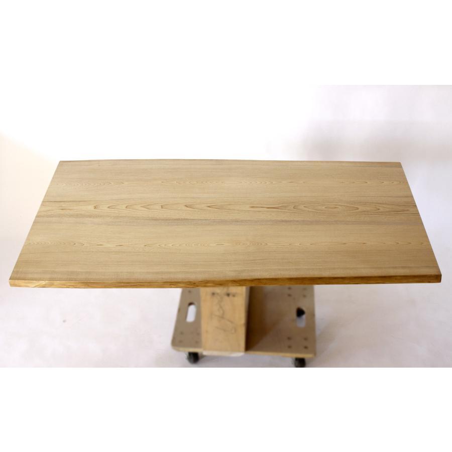 150x約80cm 国産無垢材ダイニングテーブル(オイル仕上)【岩泉純木家具公式ストア】 高さ1ミリ単位でオーダー可能 T型脚 セン材 ローテーブル 一枚板風|junboku|02