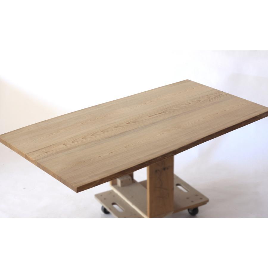 150x約80cm 国産無垢材ダイニングテーブル(オイル仕上)【岩泉純木家具公式ストア】 高さ1ミリ単位でオーダー可能 T型脚 セン材 ローテーブル 一枚板風|junboku|05