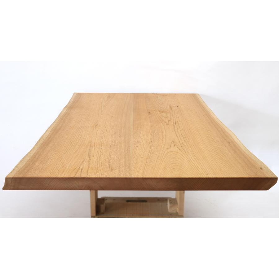 165x約90cm 国産無垢材ダイニングテーブル(オイル仕上)【岩泉純木家具公式ストア】 高さ1ミリ単位でオーダー可 T型脚 クルミ材 ローテーブル 一枚板風 北欧|junboku|04