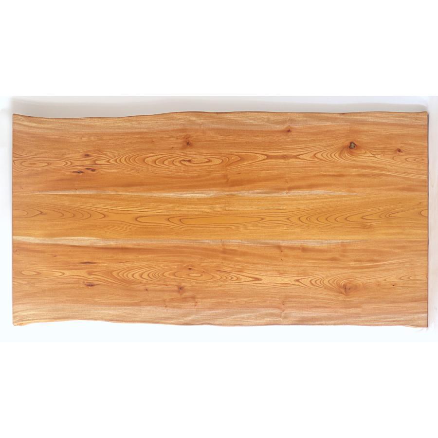 165x約83cm 国産無垢材ダイニングテーブル(オイル仕上)【岩泉純木家具公式ストア】 高さ1ミリ単位でオーダー可 T型脚 ケヤキ材 ローテーブル 一枚板風 北欧 junboku 07
